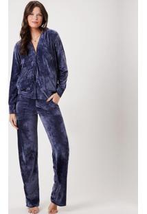 Pijama Joge Homewear Azul Marinho