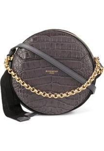 Givenchy Bolsa Transversal Eden Redonda - Cinza