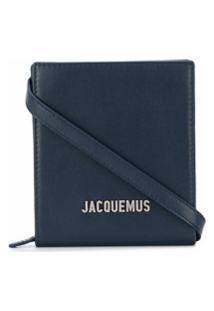 Jacquemus Bolsa Tiracolo Com Logo De Letras - Azul