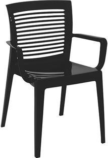 Cadeira Victoria Vazada Preta - Tramontina