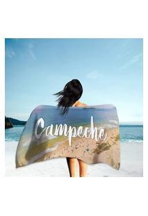 Toalha De Praia / Banho Campeche Único