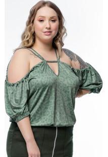 Blusa Plus Size Verdesavana