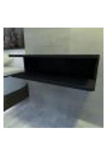 Aparador Para Banheiro 60X30X16,5 Cm Mdf Preto Tx Modelo En15603B