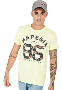 Camiseta Algodão Tropical Maresia - Masculino