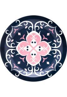 Conjunto De 6 Pratos Rasos 26Cm Floreal Hana - Multicolorido - Dafiti