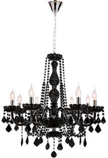 Lustre Decorativo De 8 Lâmpadas Bray