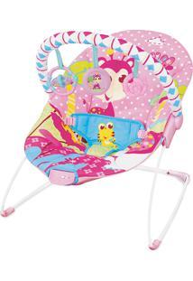 Cadeira De Descanso Vibratória Rosa Girafa