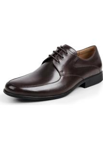 Sapato Grf Marrom Escuro