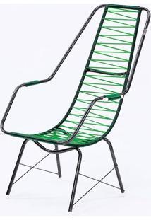 Cadeira Fio Trançado Plus Fabone - 840 Verde