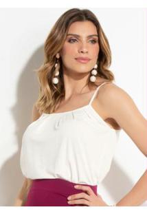 039a878a14 Blusa Bege Quintess feminina