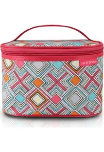 Necessaire Frasqueira Jacki Design Nylon - Feminino-Pink
