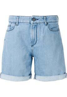 Karl Lagerfeld Short Boyfriend Ikonik - Azul