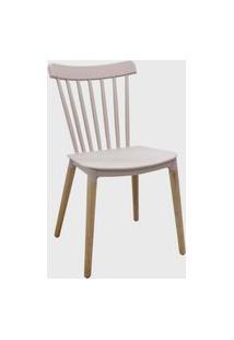 Cadeira Janaina Nude Rose Rivatti