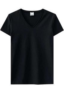 Camiseta Malwee 1000047373 00004-Preta