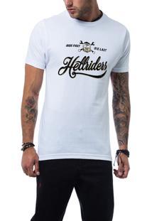 Camiseta Ukkan Hell Riders Branco