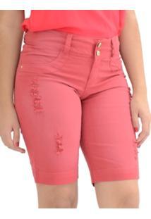 Bermuda Energia Fashion Maje Rosa