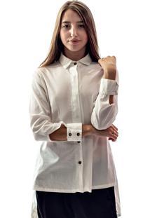 Camisa Muká Tricoline Branca