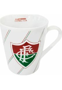 Caneca De Porcelana Fluminense 300Ml - Unissex