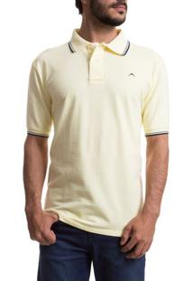 1c2af902f4 ... Camisa Polo Masculina Amarela Lisa Upper