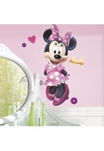 Adesivo De Parede Minnie Mouse Bow-Tique Gigante