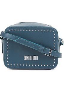 Bolsa Santa Lolla Mini Bag Risco - Feminino-Verde