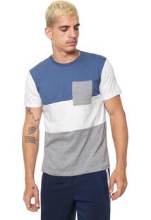 Camiseta Fiveblu Lisa Azul