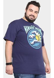 Camiseta Hd Plus Size Est Old School Masculina - Masculino