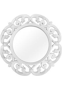 Espelho De Parede Vênus 60X60Cm Branco