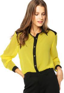 Camisa Lança Perfume Clássica Amarela