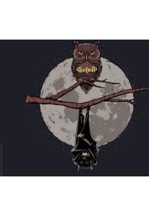 Camiseta Bat Owl - Masculina