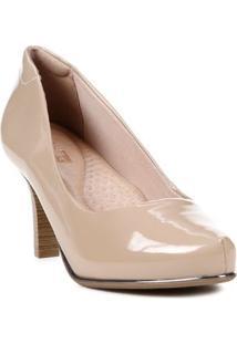 Sapato Scarpin Feminino Comfortflex Nude