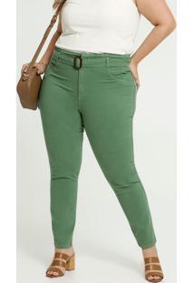 Calça Clochard Skinny Feminina Plus Size