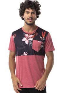 Camiseta Long Island Hibiscos Masculina - Masculino