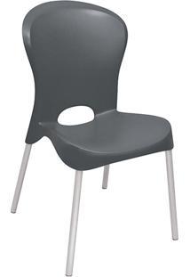 Cadeira Jolie Polipropileno Preta - Tramontina