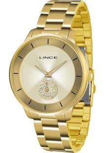 24b1e21f472 ... Relógio Feminino Lince Casual Lrgh067L C1Kx - Unissex-Dourado
