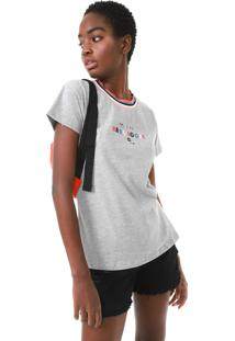 Camiseta Hang Loose Hang Collors Cinza
