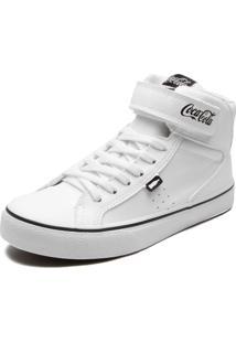 Sapatênis Coca Cola Shoes Logo Branco