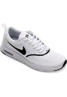 Tênis Nike Air Max Thea Feminino - Feminino-Branco+Preto