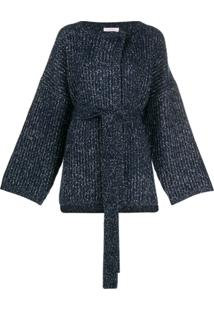 See By Chloé Cardigan Oversized - Azul