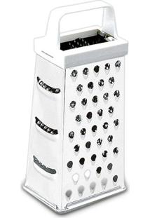 Ralador Top Pratic Com 4 Faces- Inox- 17Cm- Brinbrinox