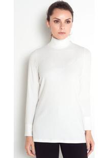Blusa Gola Alta Metz Off White (2003650.Pp)