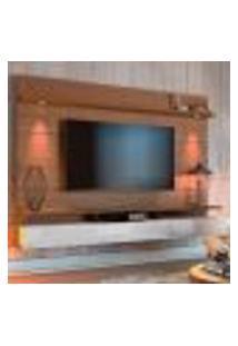 Painel Para Tv Até 60 Polegadas Decore Led Iv 3 Gv Freijó E Off White