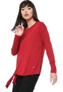 Blusa Ellus Nó Vermelha