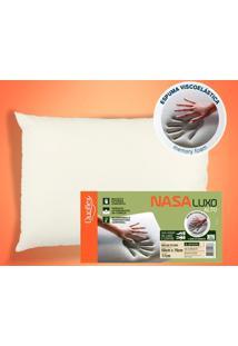 Travesseiro Nasa Luxo Viscoelástico - 50 X 70 Cm - Duoflex - Kanui