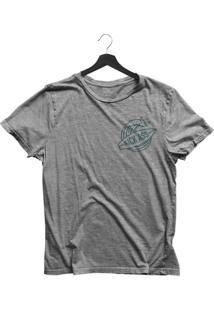 Camiseta Jay Jay Bã¡Sica Kick Ass Cinza Mescla Dtg - Cinza - Feminino - Dafiti