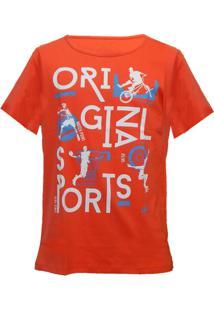 Camiseta Mormaii Bikery - Masculino-Laranja