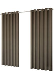 Cortina Blackout Requinte 7022 180X200 Cm Marrom