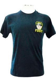 Camiseta Kaluapa Fdny Fire Departament New York - Masculino