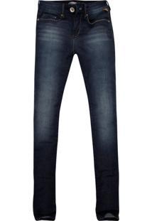 Calça Skinny Khelf Azul