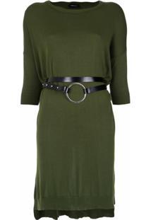Gloria Coelho Vestido De Tricô - Verde